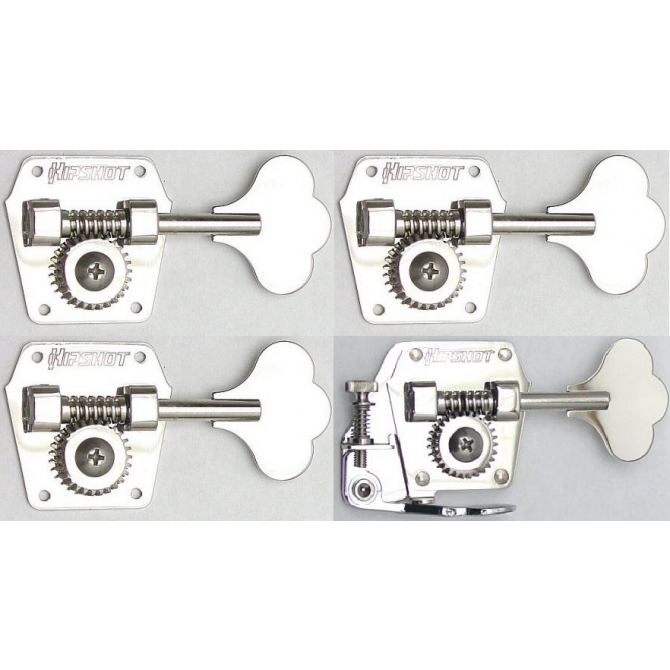 4-String HB3 & BT3 Tuner/De-tuner Bass Side Nickel Set