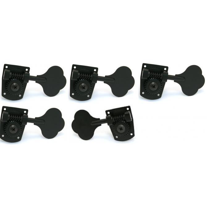 5-String MusicMan HB7 Black Set
