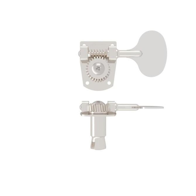 Hipshot HB7-L Lollipop Machine Head Tuner Nickel Bass Side