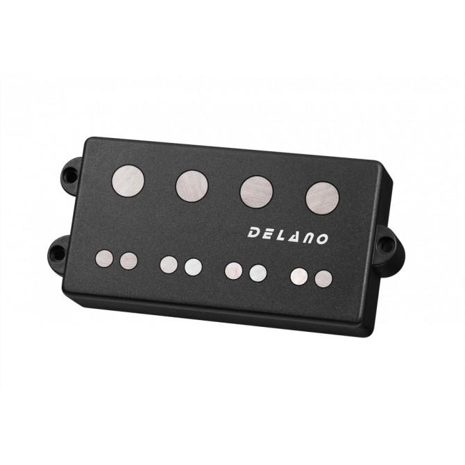 Delano MC4 HY (Hybrid) 4 String MusicMan Size Dual Coil Pickup