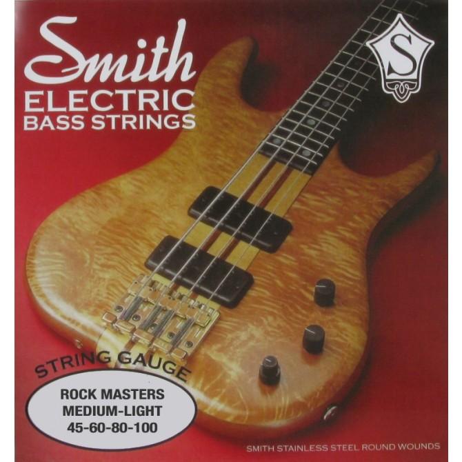 Ken Smith RM-ML Rock Master 4 String Medium Light (45 - 65 - 80 - 100) Long Scale