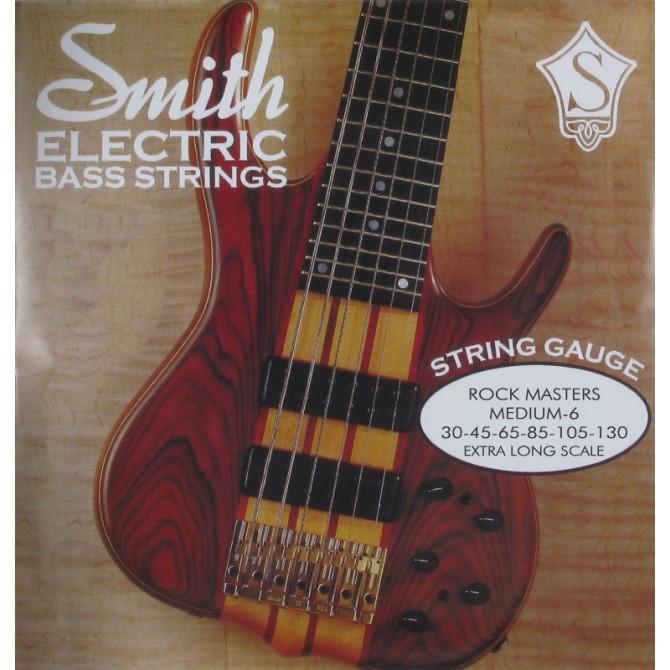 Ken Smith RMM-6X Rock Master 6 String Medium (30 - 45 - 65 - 85 - 105 - 130) Extra Long Scale