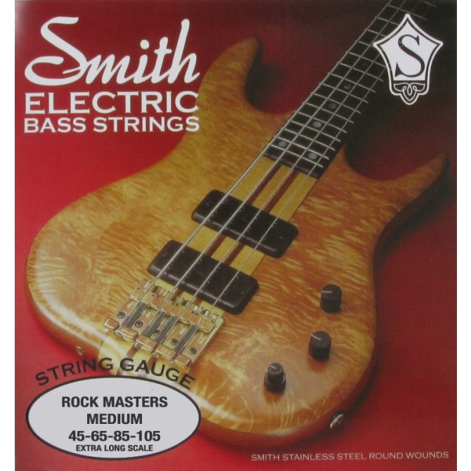 Ken Smith RMM-X Rock Master 4 String Medium (45 - 65 - 85 - 105) Extra Long Scale