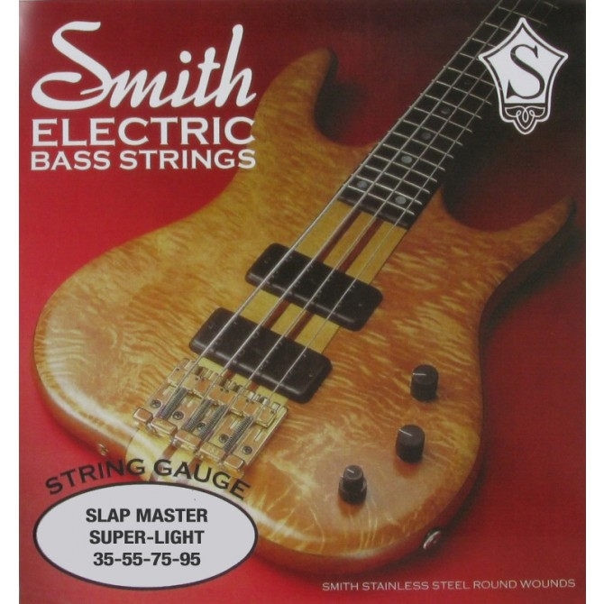 Ken Smith SM-SL Slap Master 4 String Super Light (35 - 55 - 75 - 95) Long Scale