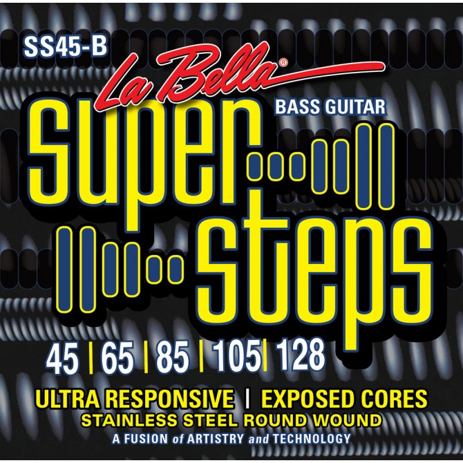 Labella SS45-B Super Steps 5 String Standard (45 - 65 - 85 - 105 - 128) Long Scale