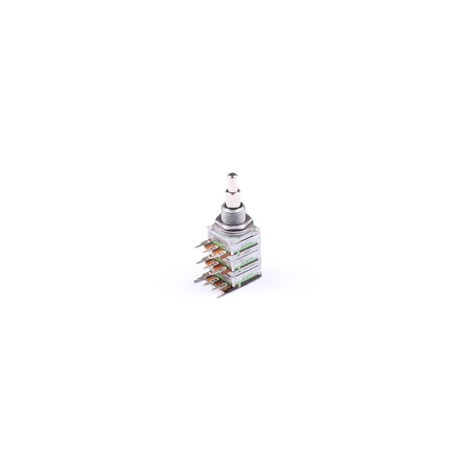 NOLL 50k/100k EQ/EQ Potentiometer Stacked 4/6mm Solid Shaft