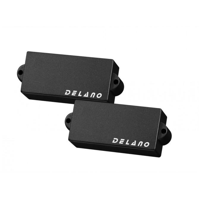 Delano PC4 HE/M2 (White) 4 String Precision Size Split Coil Pickup