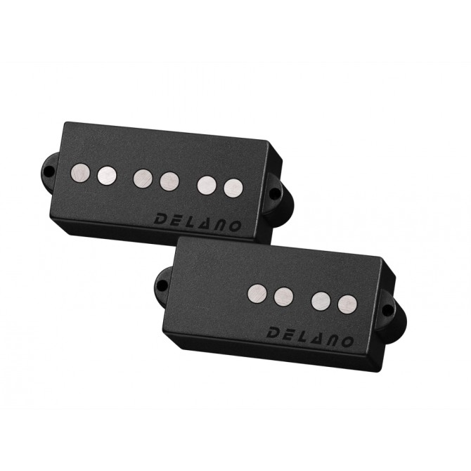 Delano PC5 AL/M2 5 String Precision Size Split Coil Pickup