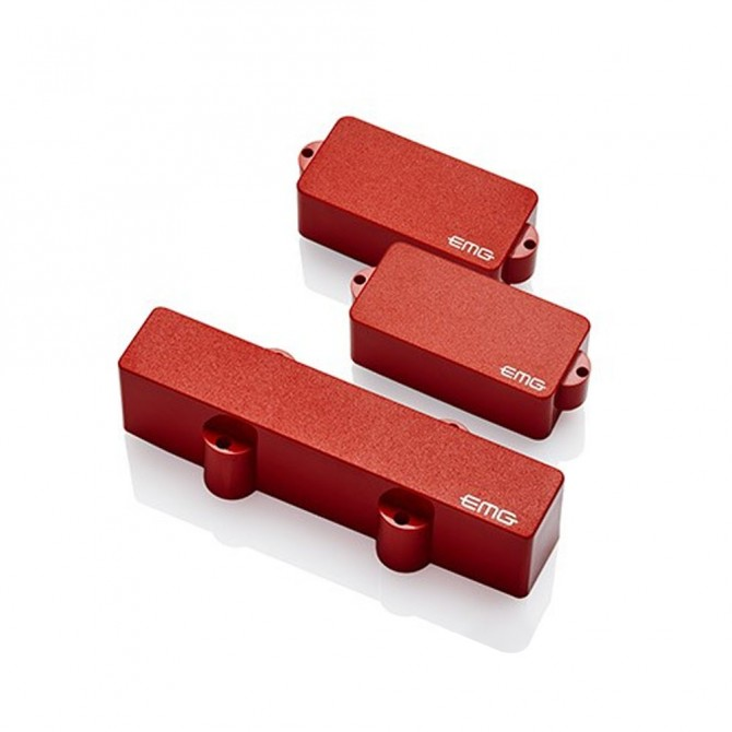 EMG P/J Pickup Set (Red)