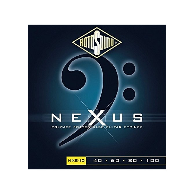 Rotosound NXB40 Nexus Bass 4 String Hybrid  (40 - 60 - 80 - 100) Long Scale
