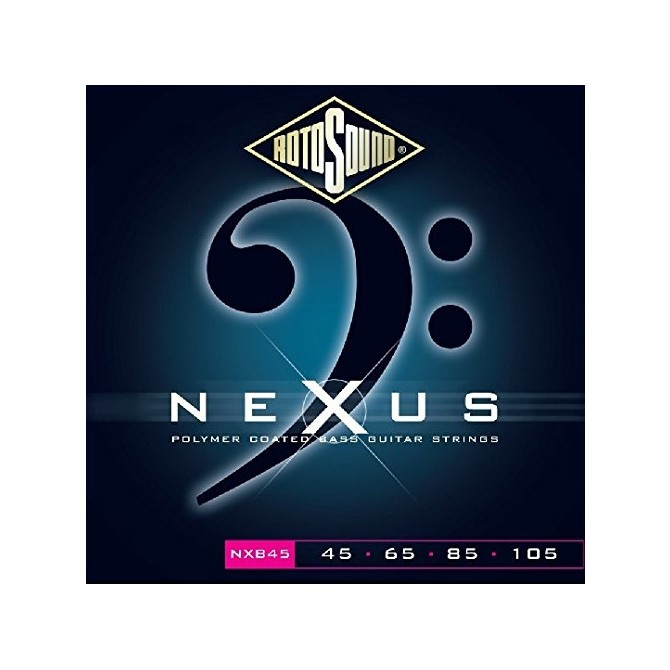 Rotosound NXB45 Nexus Bass 4 String Standard (45 - 65 - 85 - 105) Long Scale