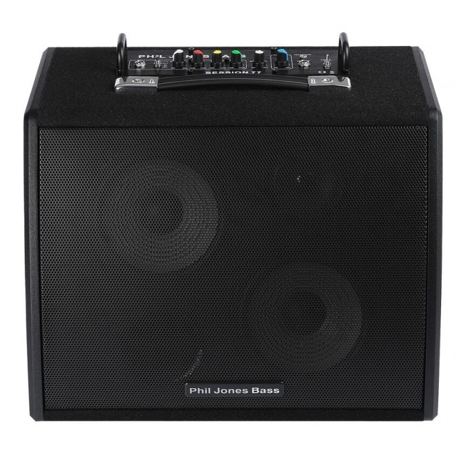 "Phil Jones Bass Session 77 100 Watt PWM amplifier Combo 2x7"" LF+ 2"" HF"