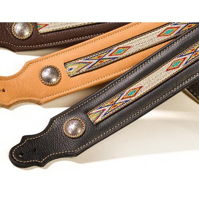 Franklin Southwest Leather Black Strap