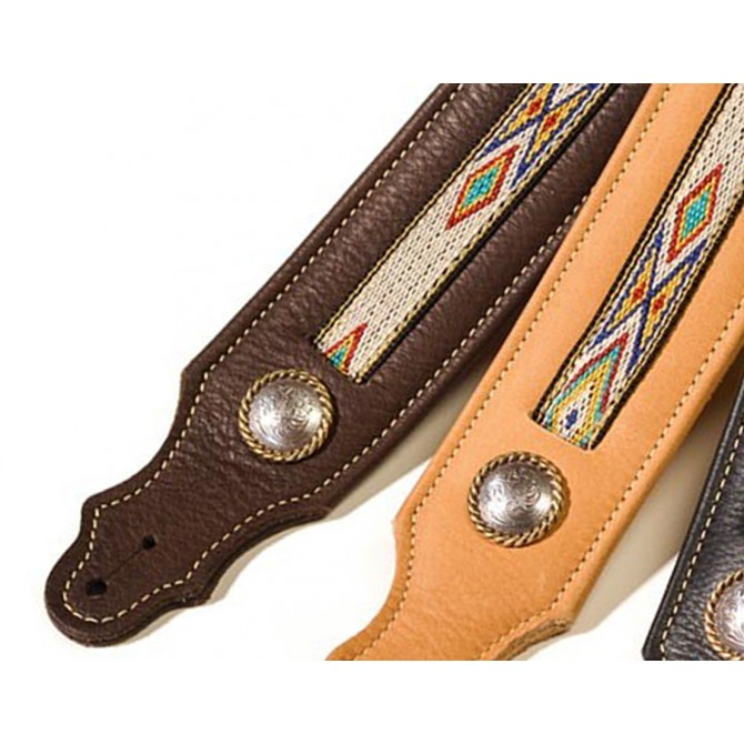 Franklin Southwest Leather Chocolate Strap