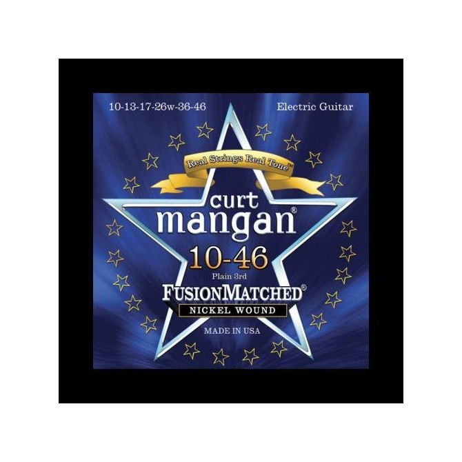 Stambaugh/Curt Mangan Fusion Matched Bass Strings