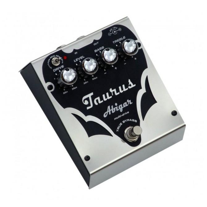 Taurus Abigar-Mult Drive SL Bass Effect Pedal-Silver Line