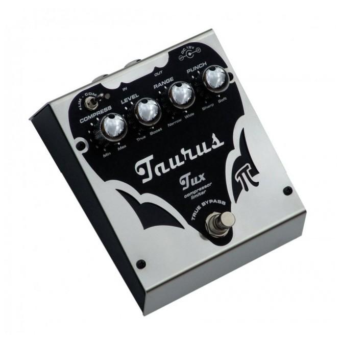 Taurus Tux- Compressor Limiter Bass Effect Pedal-Black Line