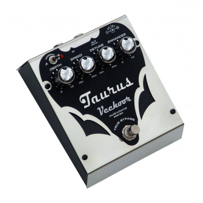 Taurus Vechoor SL-Chorus Bass Effect Pedal-Silver Line