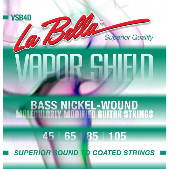 Labella VSB4D Vapor Shield 4 String Medium (45 - 65 - 85 - 105) Long Scale