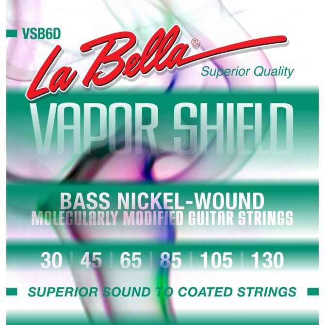 Labella VSB6D Vapor Shield 6 String Medium (30 - 45 - 65 - 85 - 105 - 130) Long Scale
