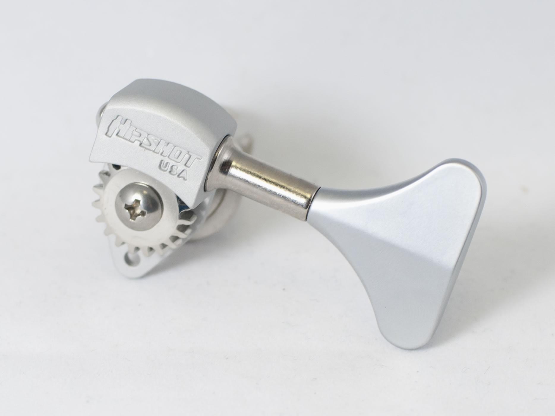 Ultralite Clover 1//2 Bass Tuner chrome Orientation: Bass Side Hipshot