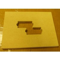 "Mike Plyler 1/2"" Thick MDF Aguilar 5PCL Size Template"