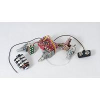 (Custom Order)Glockenklang 1-Pickup 3-Knob 3-Band Vol P/P A/P - Treb-Hybrid passive tone  - Mid/Bass Stack