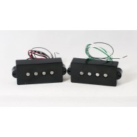 Dimarzio DP250-BK 4 String Precision Size Area P Split Coil Pickup
