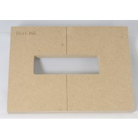 "Mike Plyler 1/2"" Thick MDF MK Size Template"