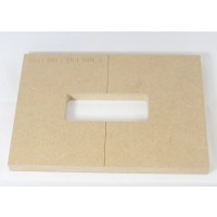 "Mike Plyler 1/2"" Thick MDF BB Size Template"