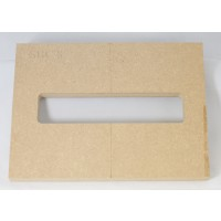 "Mike Plyler 1/2"" Thick MDF Delano SBC8 Size Template"