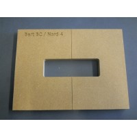 Mike Plyler Pickup Routing Template for Bart BC/Nord 4
