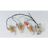 Prewired Passive Harness (Volume-Volume-Tone)