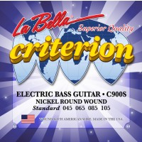 Labella C900S Criterion Nickel Plated Roundwound 4 String Standard (45 - 65 - 85 - 105) Long Scale