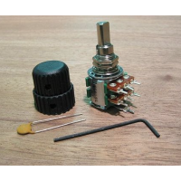 EMG - Potentiometer - A25KX2  Stacked Volume Control (Hardwired) A25KX2