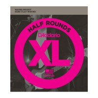 Daddario XL Half Round Bass Strings