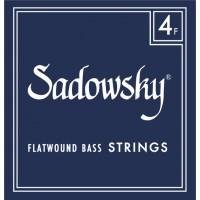Sadowsky Blue Label Flatwound Bass Strings