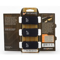 GruvGear FretWraps Black 3-Pack Sampler (Discontinued by Supplier)