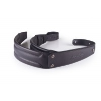 GruvGear DuoStrap Signature Black Leather Ergonomic Double Strap