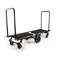 Krane AMG 750 - Multi-Mode Folding Longbed 6-Wheeled Cart, 750-Pound
