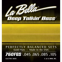 Labella Deep Talkin' Bass Gold Flats