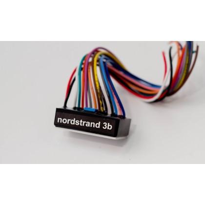Nordstrand 3B-5a 2-Pickup 5-Knob 3-Band Vol P/P A/P - Bl - Treb - Mid P/P - Bass