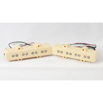 Dimarzio DP149-CR 4 String Jazz L/S Size Ultra Jazz Split Coil Set