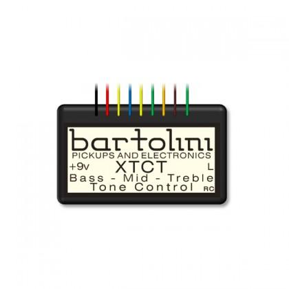 Bartolini XTCT 3-Band Preamp(High Impedance)