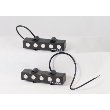 Delano JMVC5 FE/M2 5 String Jazz L/L Size Split Coil Set