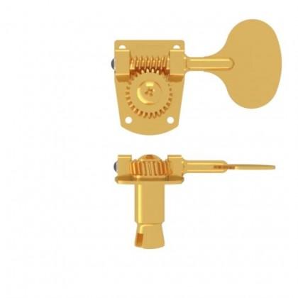 Hipshot HB7-L Lollipop Machine Head Tuner GOLD Bass Side