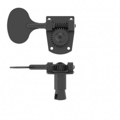 Hipshot HB7-L Lollipop Machine Head Tuner BLACK Treble Side