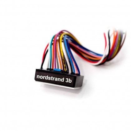 Nordstrand JC-3b PREWIRED 3-band Vol P/P - Bl - Treb P/P - Mid - Bass P/P