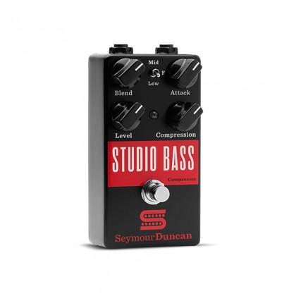 Seymour Duncan Studio Bass Compressor Pedal Black