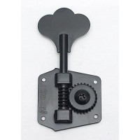 Hipshot Machine Head Tuner - HB3 - Black - Bass Side